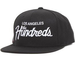 Forever Team Snapback Black - The Hundreds