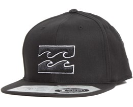 All Day 110 Black/White Snapback - Billabong