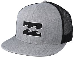 All Day Heather Grey Trucker - Billabong