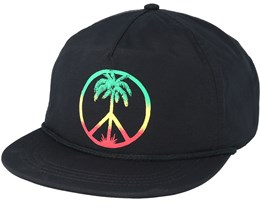 Peace On The Beach Svart Snapback - Quiksilver