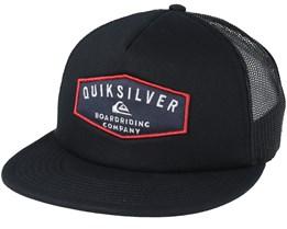 Jetty Grind Black trucker Snapback - Quiksilver
