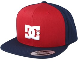 Snappy Red/Navy Snapback - DC