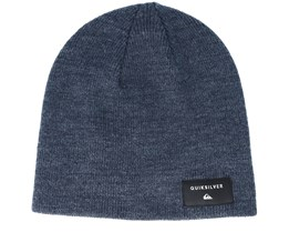 Kids Cushy Slouch Youth Navy Beanie - Quiksilver
