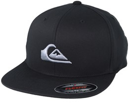 Stuckles Black Fitted - Quiksilver