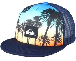 Kids Mix Tape Boy Palms Multi Trucker - Quiksilver