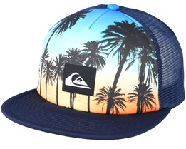Kids Mix Tape Youth Palms Multi Trucker - Quiksilver