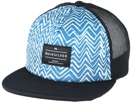 Kids Brissells Youth Blue Trucker - Quiksilver