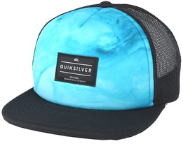 Kids Brissells Youth 2 Blue Trucker - Quiksilver