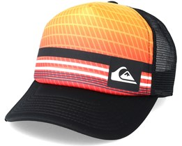 Kids Foamnation Youth Orange Multi Trucker - Quiksilver