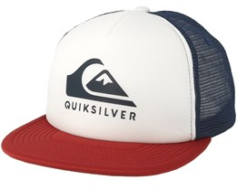Foamslay White Trucker - Quiksilver