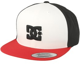 Snappy White/Black Snapback - DC