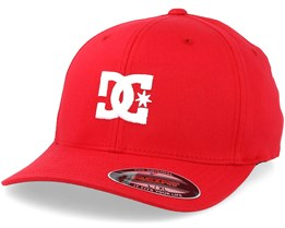 Cap Star 2 Red/White Flexfit - DC
