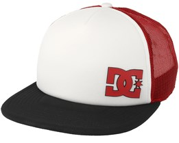 Madglads White/Red Trucker - DC
