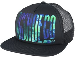 Trippy Black/Black Trucker - DC