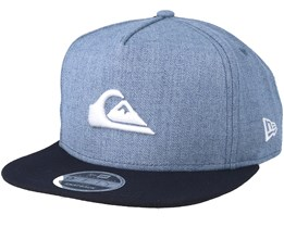 Stuckles Blue/Navy Snapback - Quiksilver