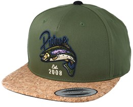 Bakers Green Snapback - Picture