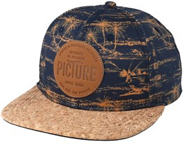 Taka Navy Snapback - Picture