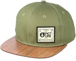 Sheridan Wood Green Snapback - Picture