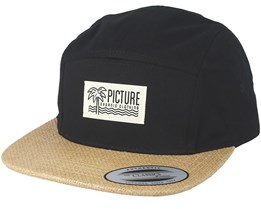 Betty Black 5 Panel - Picture