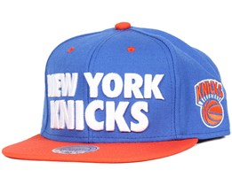 New York Knicks Score Snapback - Mitchell & Ness