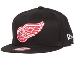 Detroit Red Wings NHL Black Basic 9Fifty Snapback - New Era