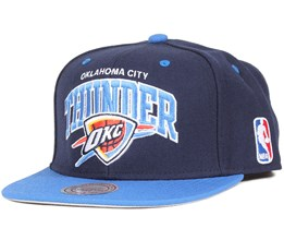 Oklahoma City Thunder Team Arch Snapback - Mitchell & Ness