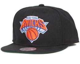 New York Knicks Wool Solid Snapback - Mitchell & Ness