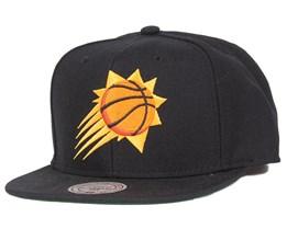 Phoenix Suns Wool Solid Snapback - Mitchell & Ness