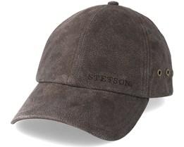 Baseball Cap Pigskin Braun Adjustable - Stetson