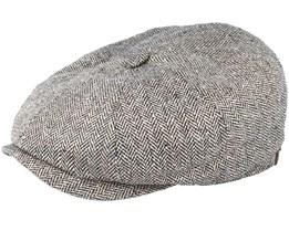 Hatteras Silk Fischgrat Flatcap - Stetson