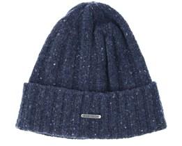 Merino Wool 2 Navy Beanie - Stetson