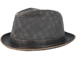Player Co/Pe Dark Brown Trilby - Stetson