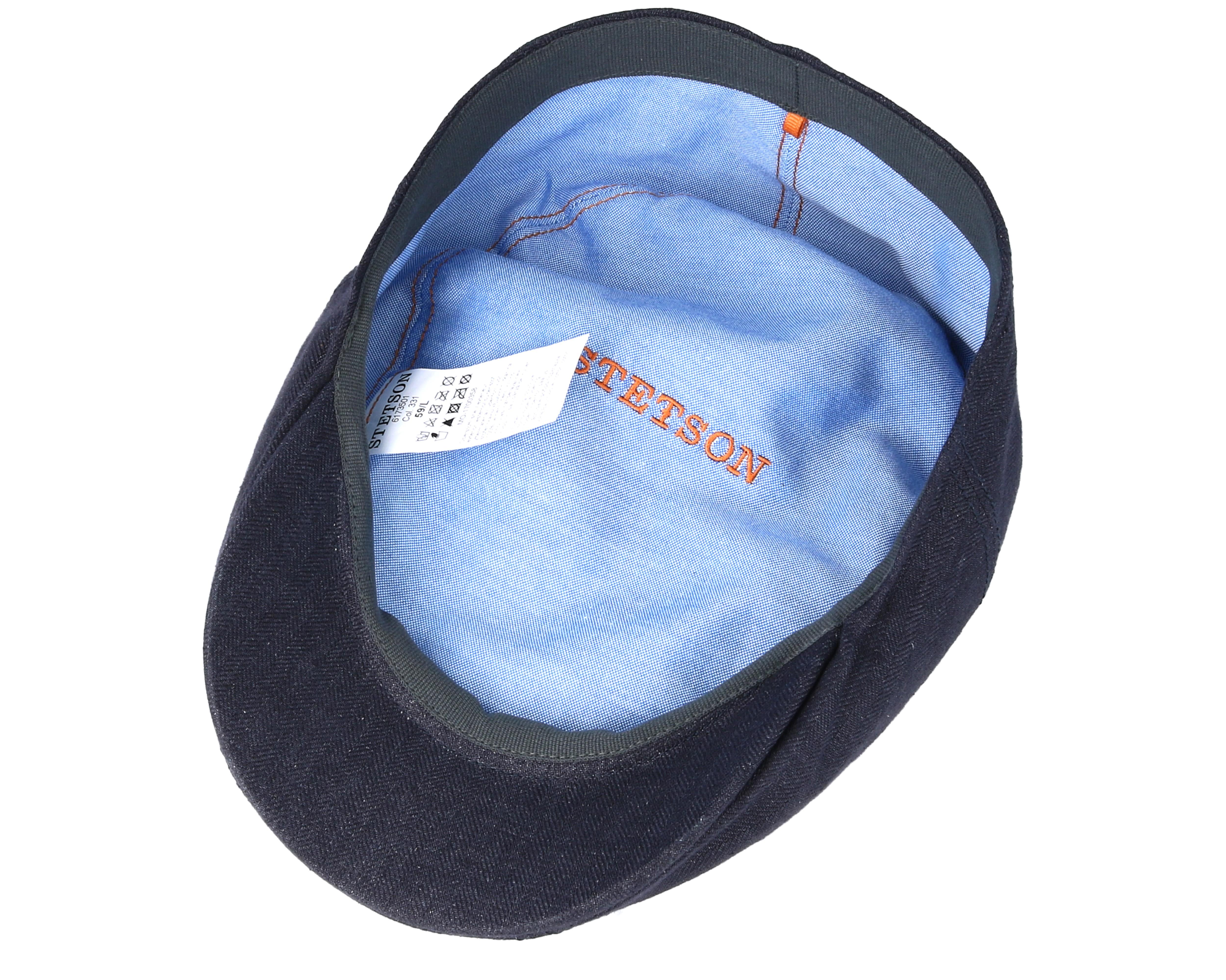 bb21885b7e8 Product information Ivy Cap Linen Fischgrat Flatcap - Stetson