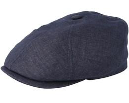 6-Panel Cap Linen Fischgrat Flatcap - Stetson