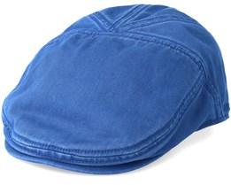 Ivy Cotton Blue Flatcap - Stetson