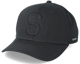 Baseball Cap Cotton Black Adjustable - Stetson