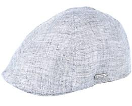 Sportcap Texas Linen Grey Flat Cap - Stetson