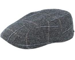 Ivy Wool Grey Flat Cap - Stetson