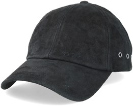 Baseball Cap Pigskin Black Adjustable - Stetson