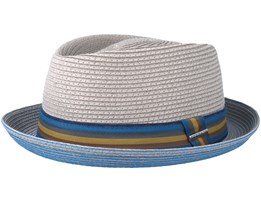 Diamond Toyo Grey Fedora - Stetson