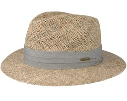 Seagrass Traveller Beige/Grey Straw - Stetson
