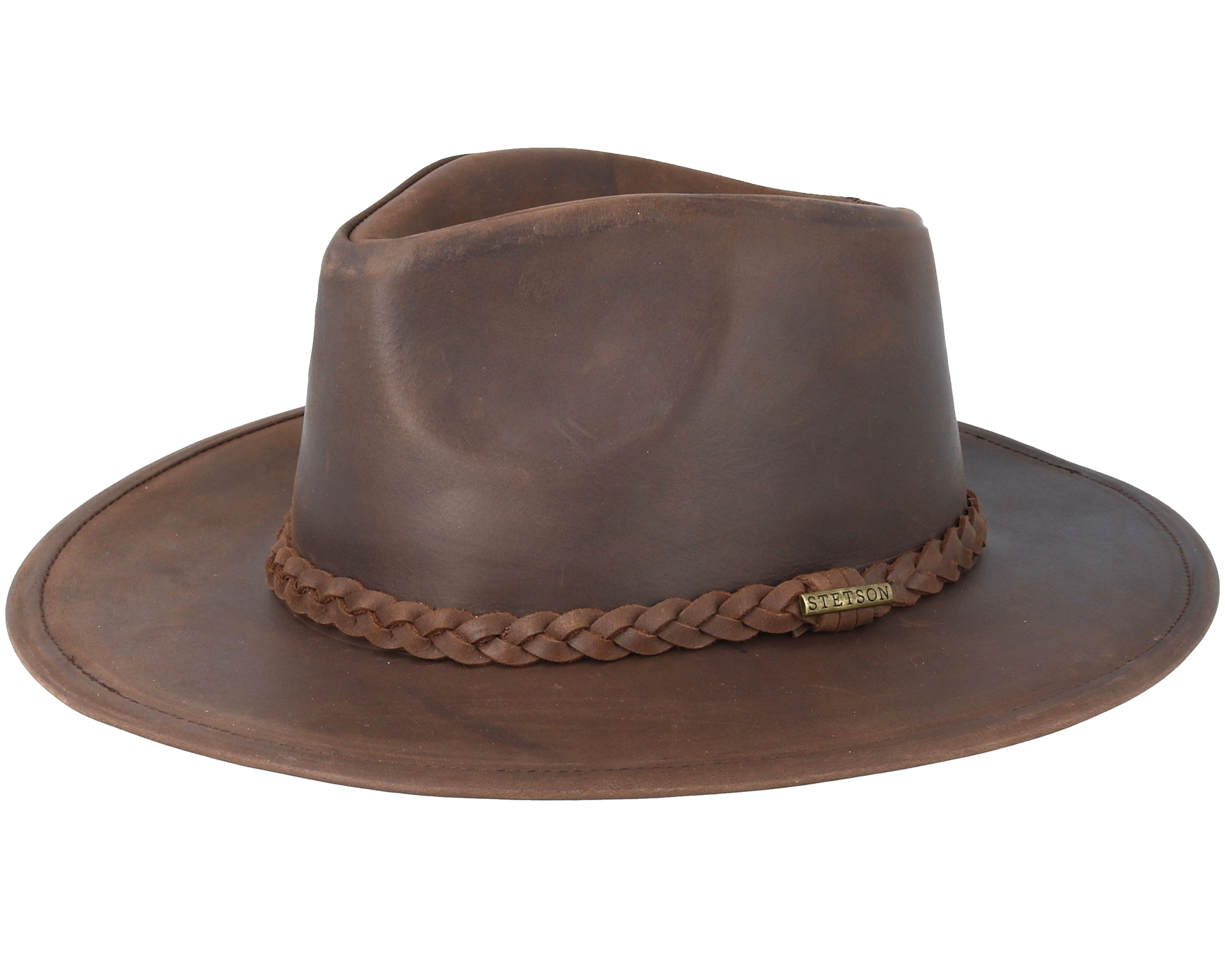 Product information Western Buffalo Leather Brown - Stetson 23f39299074