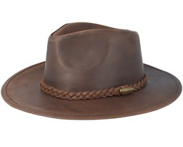 Western Buffalo Leather Brown - Stetson