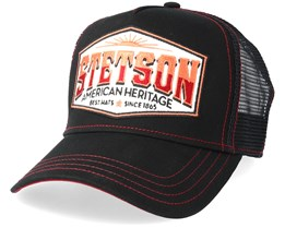 American Heritage Black Adjustable - Stetson