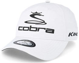 Pro Tour White Flexfit - Cobra