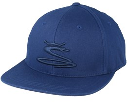 Kids Tour Snake Navy Snapback - Cobra
