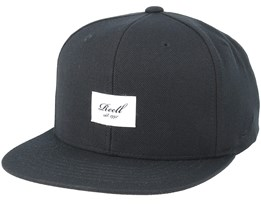 Base Cap Black Snapback - Reell