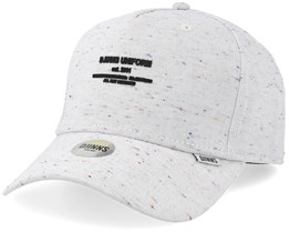 Spotted 5 Panel Curved Off White Adjustable - Djinns