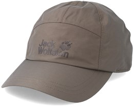 Texapore Baseball Cap Siltstone Adjustable - Jack Wolfskin