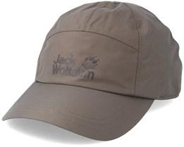 Texapore Baseball Cap Siltstone Adjustable - Jack Wolfskin